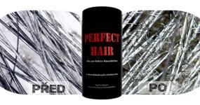 Krycí pudry pro řídké vlasy