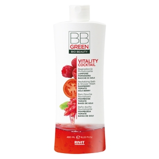 Rivit BB Green Vitality Cocktail revitalizační sprchový gel 480 ml