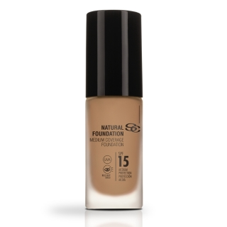 Salerm Beauty Line Natural Foundation středně krycí make-up F30 30 ml